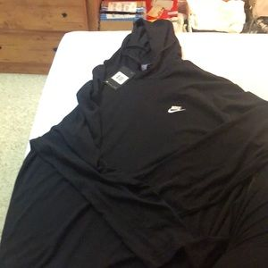 NBW Black light weight Nike hoodie
